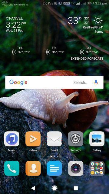 Download and Install Sony Xperia Weather Clock Widget on Any Android