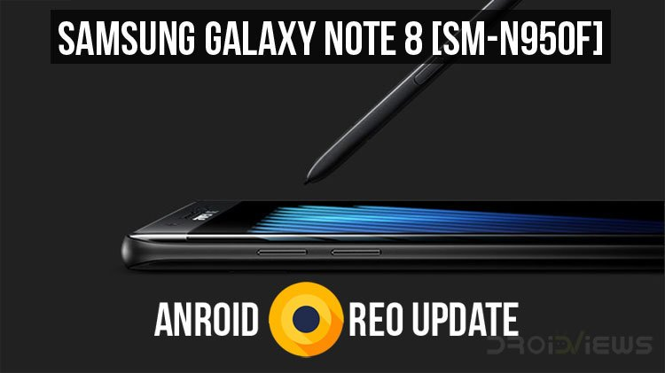 Install Android Oreo Firmware on Galaxy Note 8 (SM-N950F