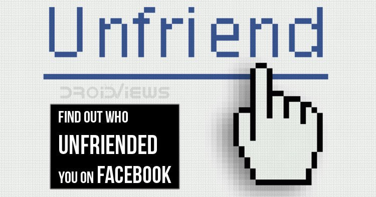 Unfriended You on Facebook
