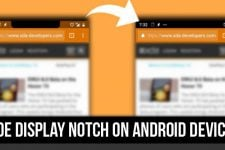 Hide Display Notch on Android Devices with Nacho Notch
