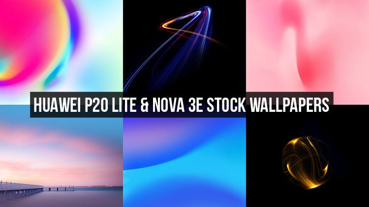 Huawei P20 Lite Stock Wallpapers