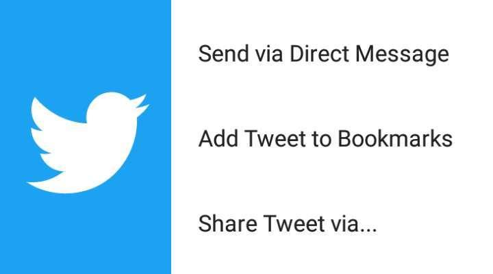 Twitter - Bookmark Favorite Tweets