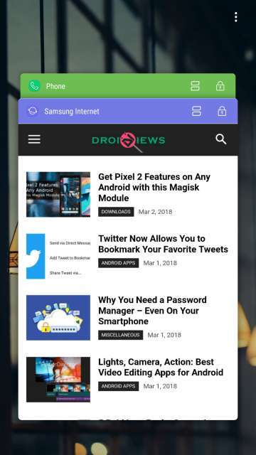 Lock Recent Apps on Samsung Devices (Android 7 0+) | DroidViews
