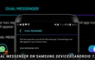 Two Whatsapp Accounts on Samsung Devices with Dual Messenger Feature