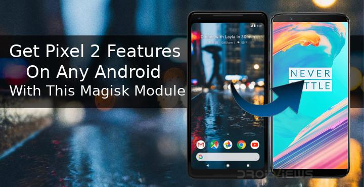 Get Pixel 2 Features