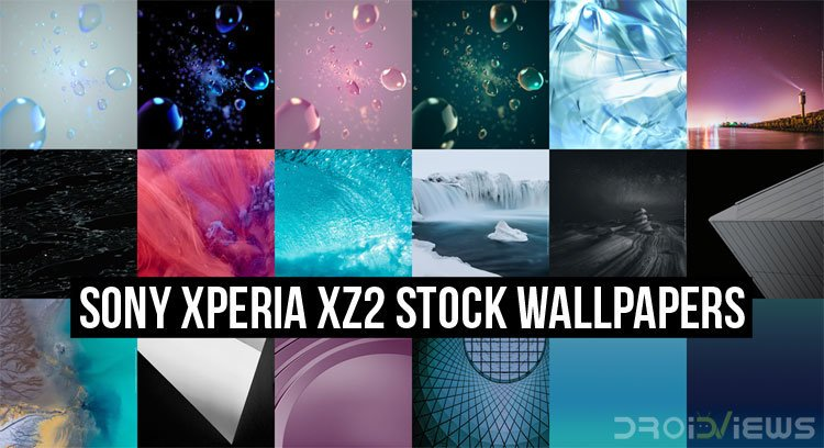 Sony Xperia XZ2 Stock Wallpapers