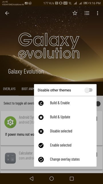 galaxy evolution theme
