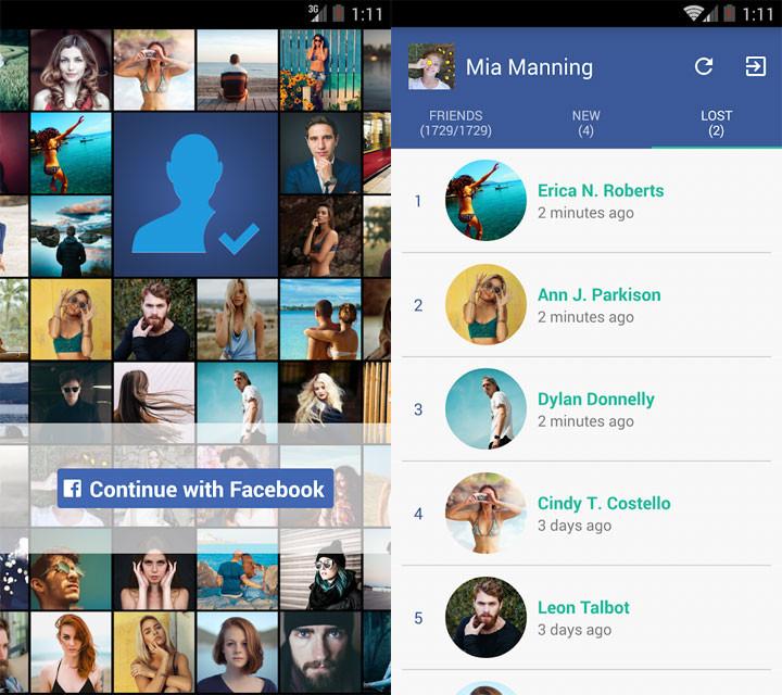 Unfriend Finder For Facebook