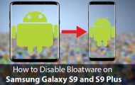 Disable Bloatware on Galaxy S9