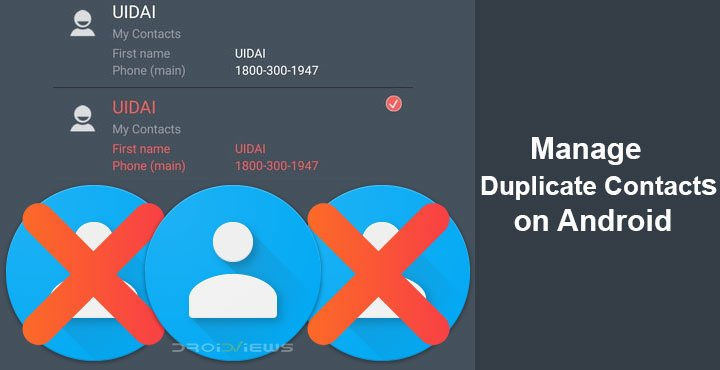 How To Get Rid Of Duplicate Contacts In Android
