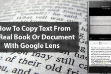 How To Copy Text From A Real Book Or Document With Google Lens