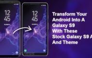 Galaxy S9 Apps and Theme