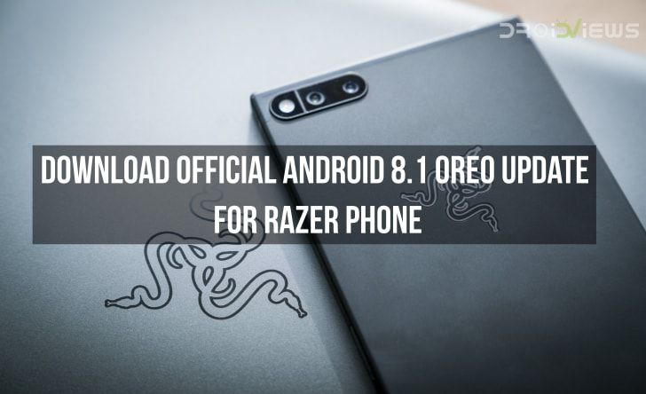 Android 8.1 Oreo Update for Razer Phone