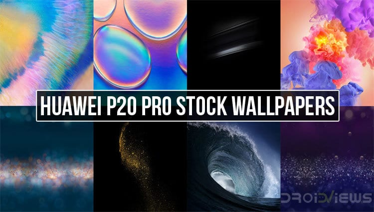 Huawei P20 Pro Stock Wallpapers