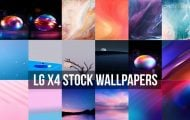 LG X4 Stock Wallpapers