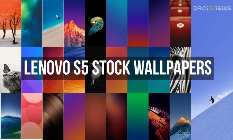 Lenovo S5 Stock Wallpapers