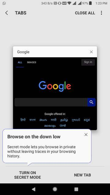 5 Android Browsers with Dark Mode/ Night Theme | DroidViews