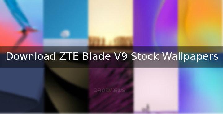 Download ZTE Blade V9 Stock Wallpapers