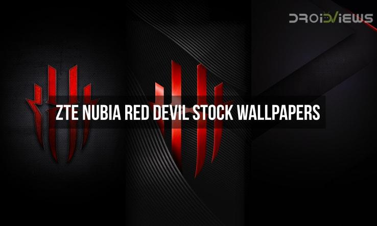 Nubia Red Devil Stock Wallpapers