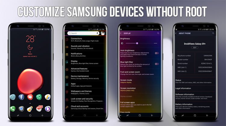 How to Customize Samsung Devices Without Root - Oreo Edition