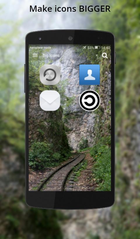 Emerald app icon size