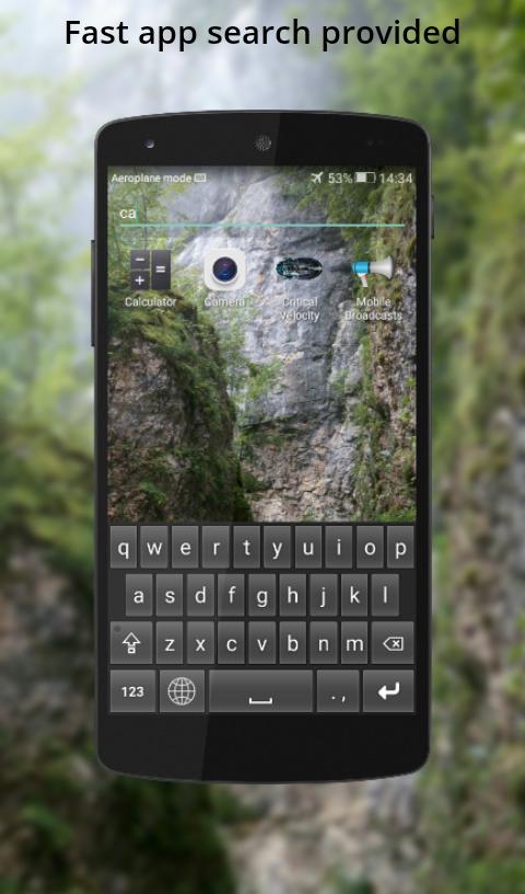 Emerald app search