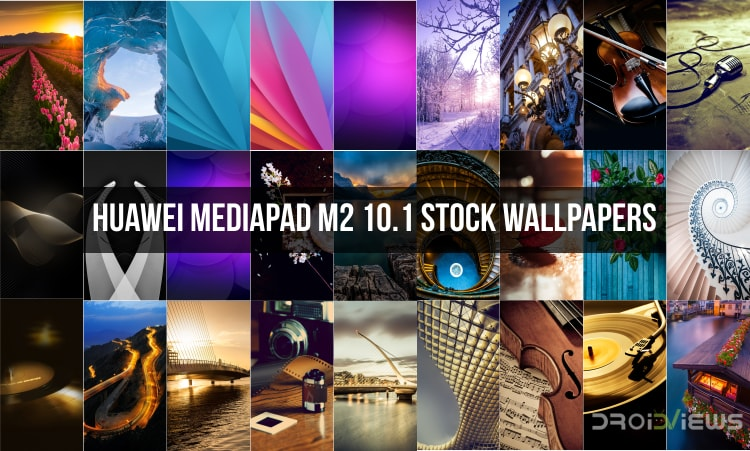 Huawei MediaPad M2 10.1 Stock Wallpapers