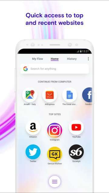 Opera Touch, a Brand New and Fast Web Browser for Android