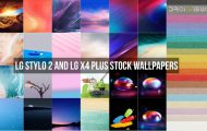 LG Stylo 2 and LG X4 Plus Stock Wallpapers