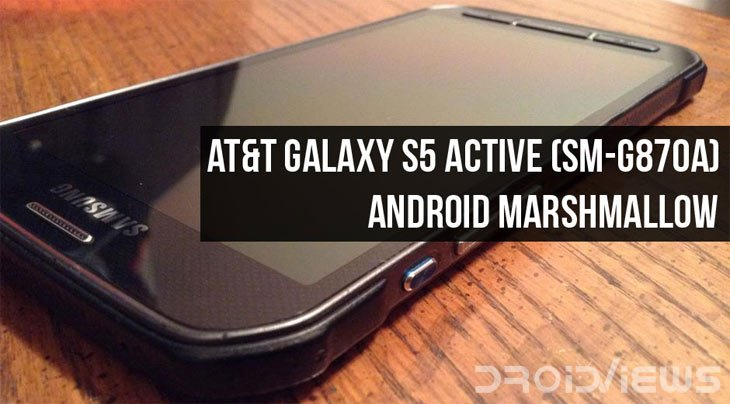 Install Android 6 0 1 Marshmallow Firmware on AT&T Galaxy S5