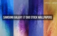 Samsung Galaxy J7 Duo Stock Wallpapers