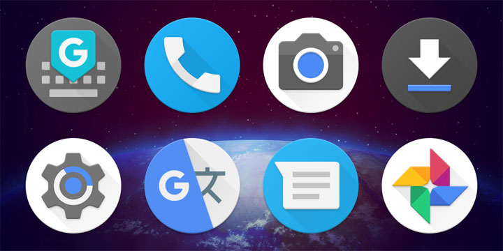 Android P icons