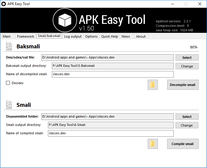 Decompile and Modify APK Files with APK Easy Tool | DroidViews