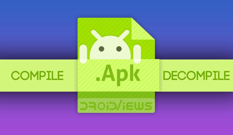 Decompile And Compile APK files with APK Easy Tool