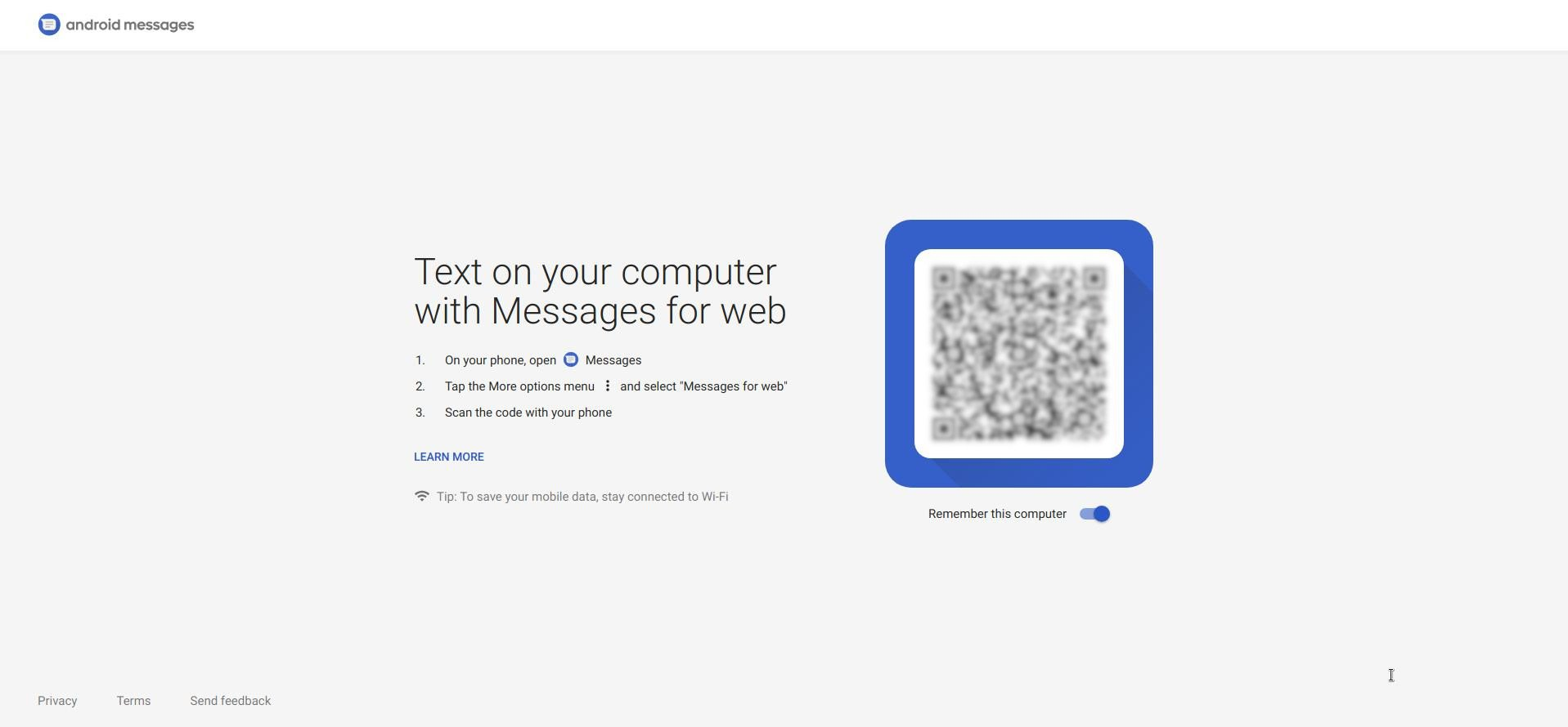 How To Send Text Messages From PC Using Android Messages for Web