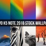 Lenovo K5 Note 2018 Stock Wallpapers