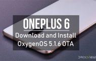 OxygenOS 5.1.6 OTA for OnePlus 6