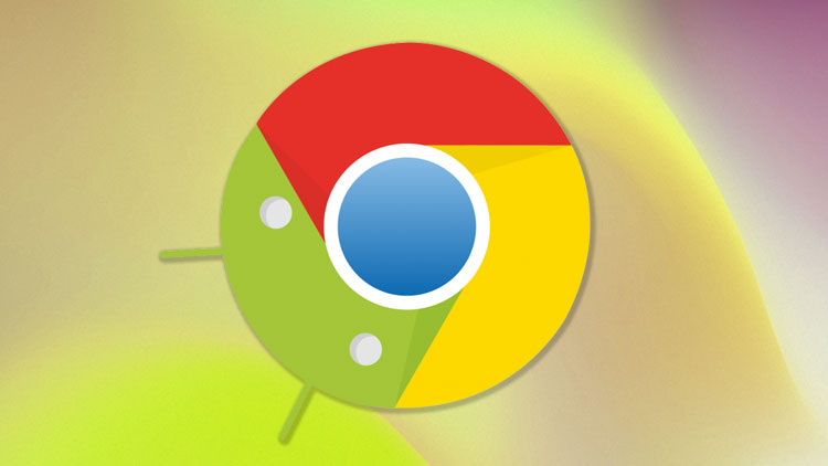 Split Toolbar on Chrome for Android