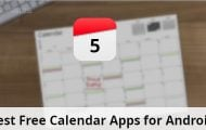 5 Best Free Calendar Apps for Android