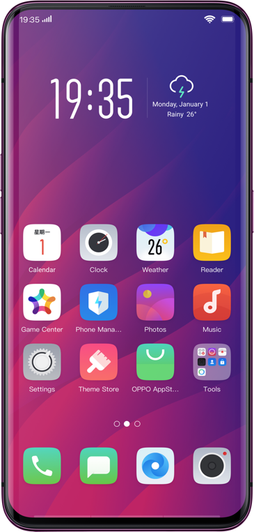 Download Oppo Find X Stock Wallpapers