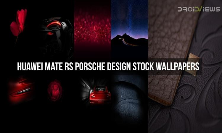 Huawei Mate RS Porsche Design Stock Wallpapers
