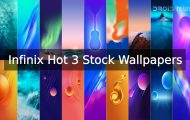 Infinix Hot 3 Stock Wallpapers