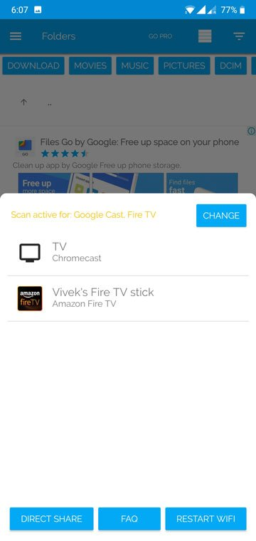 How To Cast Media From Your Phone To Amazon Fire TV or Fire TV Stick