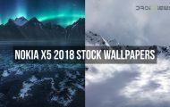 Nokia X5 2018 Stock Wallpapers