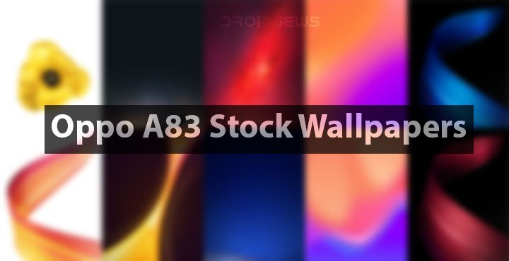 Oppo A83 Stock Wallpapers
