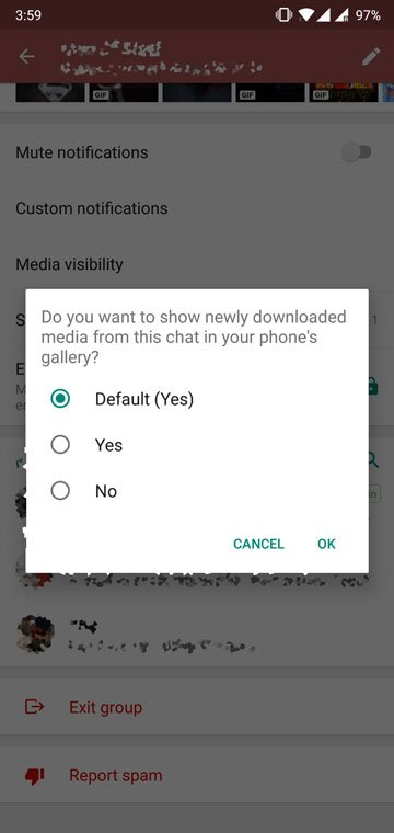 How to Hide WhatsApp Media from Gallery on Android
