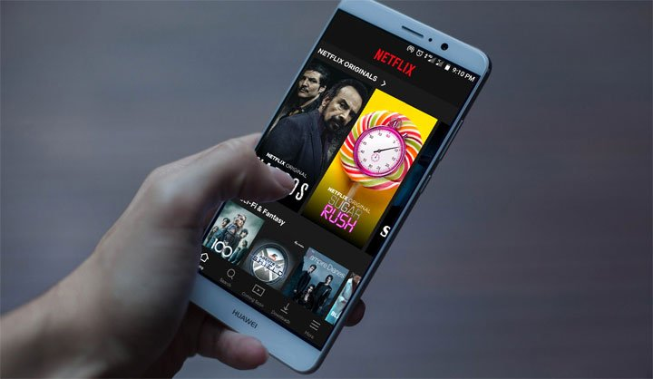 IMDb Ratings in Netflix App for Android