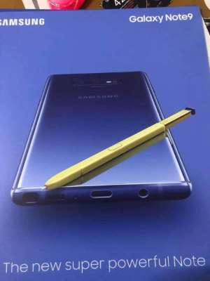 Galaxy Note 9 leaked image