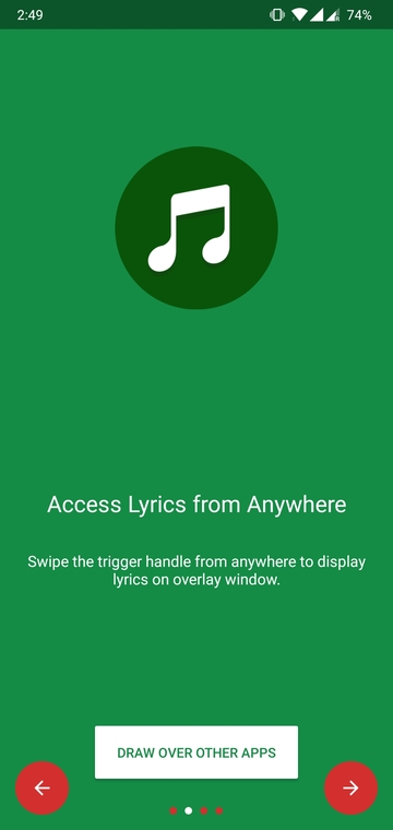 See Song Lyrics Without Leaving Your Current App With 1lyrics