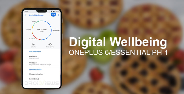 Pixel's Digital Wellbeing